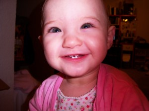 Melody's Toothy Grin