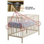 IKEA Sniglar Crib Recall