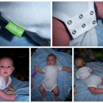 Disney Cuddly Bodysuit, Wrap Front Onesie {review}