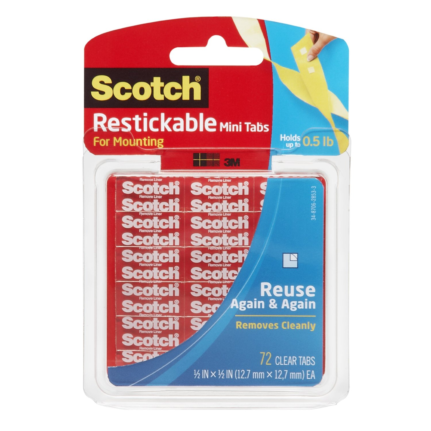 Scotch Reusable Tabs Review Connected2christ