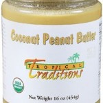 Tropical Traditions Organic Coconut Peanut Butter {review + giveaway}
