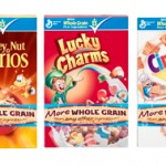 Review and Giveaway: Whole Grain First Ingredient with General Mills Cereal with White Check