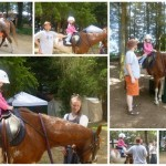 Melody's First Time on a Horse!