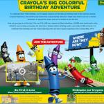 Crayola's Big Colorful Birthday Adventure