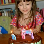 Melody Turns Five!
