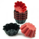 Freshware 12-Pack Flower Silicone Reusable Baking Cup {review}
