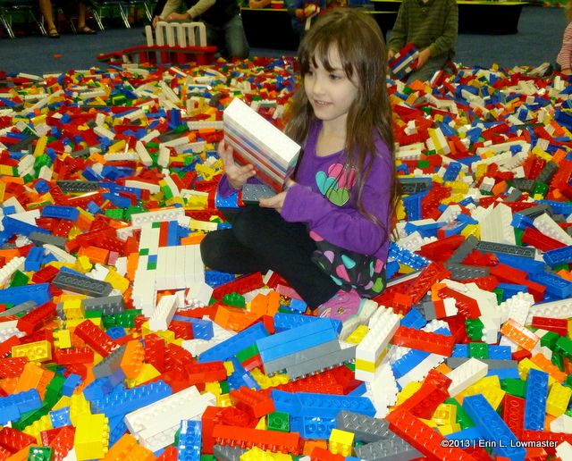 Melody in a Giant Pile of Duplos