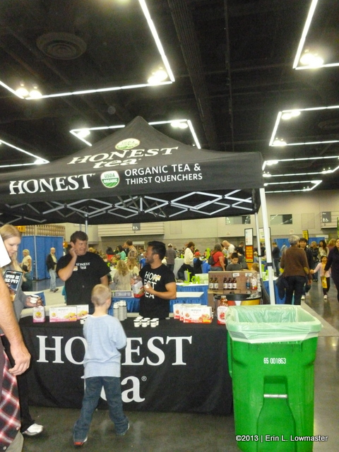 The Honest Tea Booth