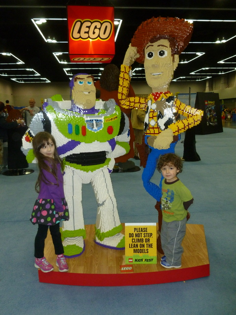The Kids with Buzz & Woody!