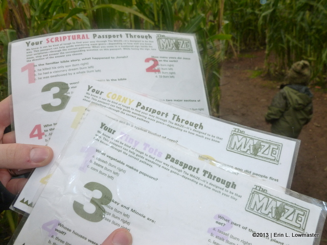 Trivia Question Passports!