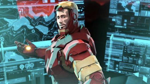 Tony Stark in Iron Man Hulk Heroes United
