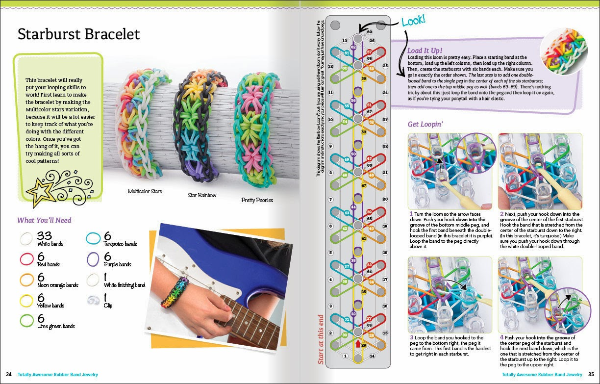 Loom Band Instructions With Pictures Auto Electrical Wiring Diagram Corsa D Totally Awesome Rubber Jewelry By Colleen Dorsey