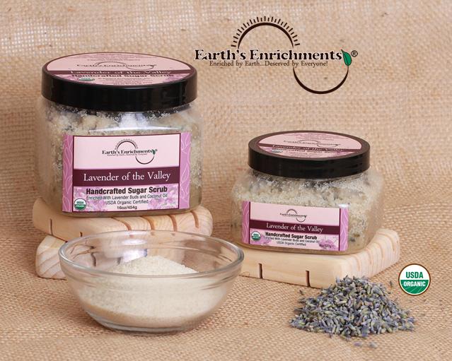 Lavender Sugar Scrubs