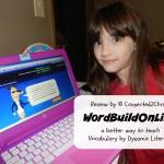WordBuildOnline {Schoolhouse Crew Review}