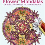 Coloring Flower Mandalas by Wendy Piersall {Review, Giveaway and Illustrator Interview}