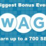 April Swago is here! 700 SB Bonus